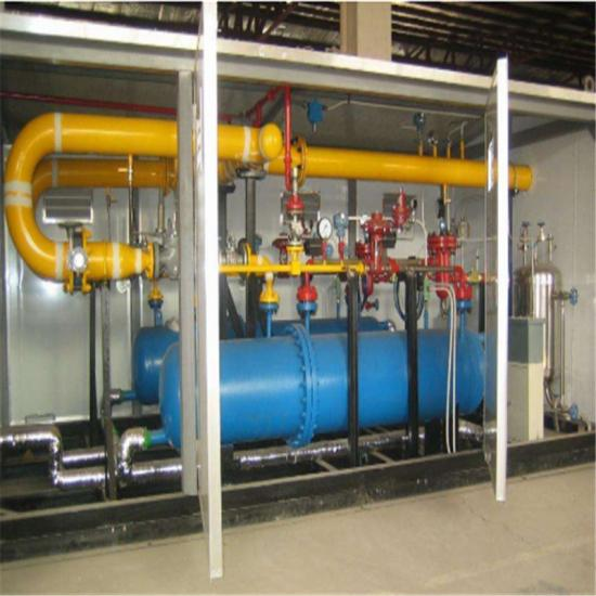 pressure regulating skid