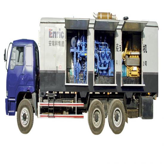 Gas blowing compressor